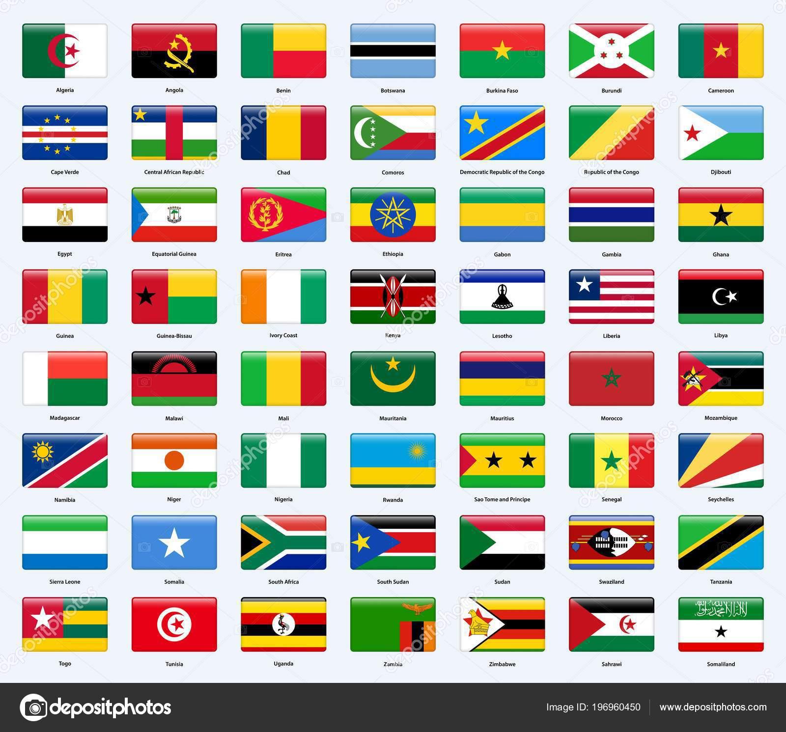 флаги стран африки в картинках с названиями страны сделанное того, как