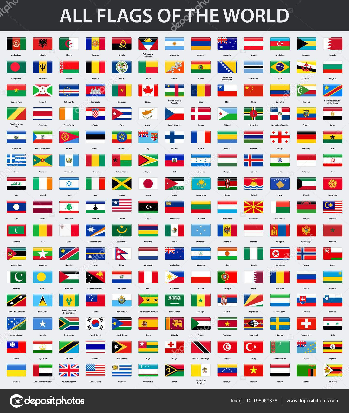 Flags of the world in alphabetical order | All Flags World