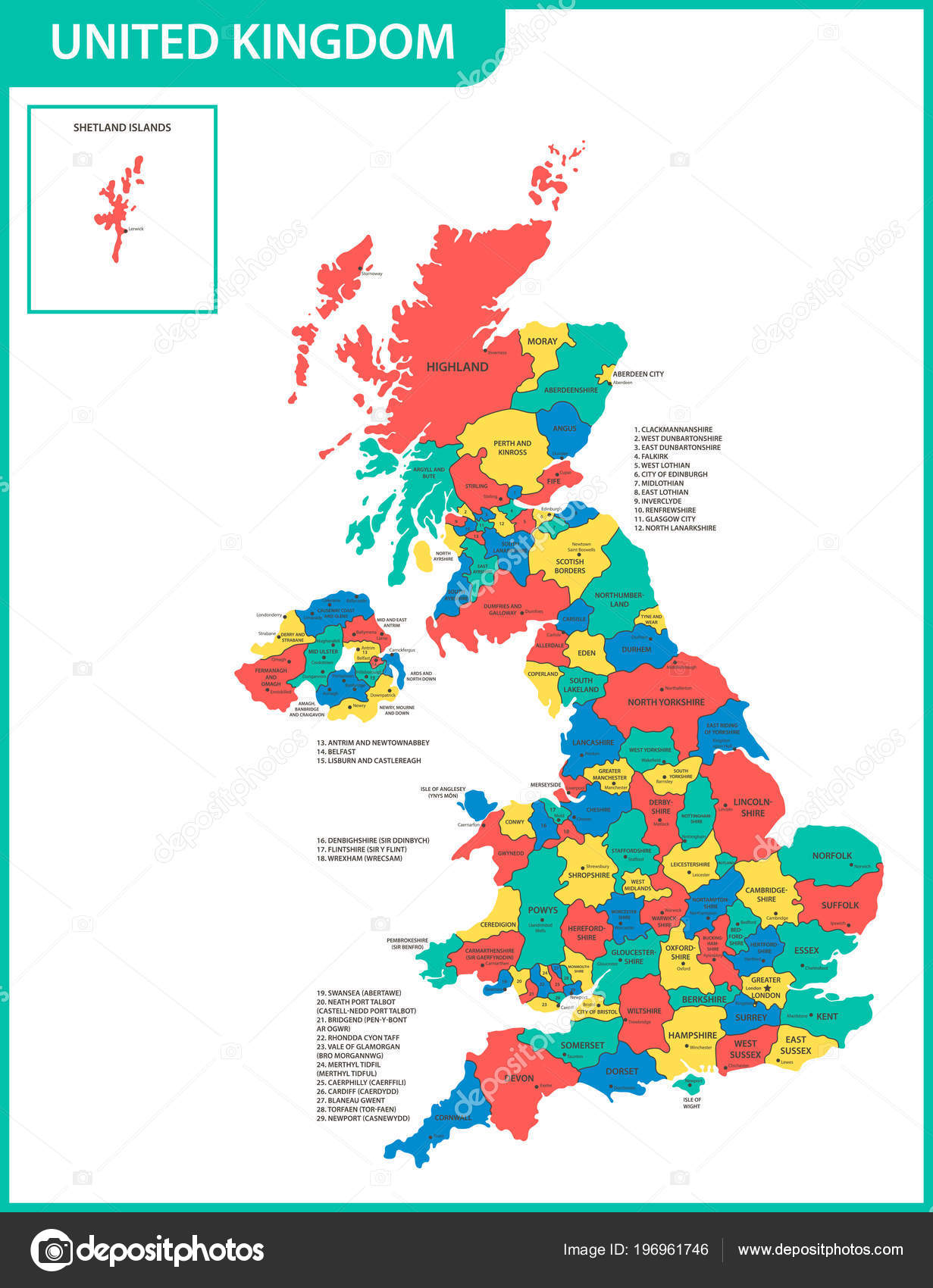 Map Of Uk Detailed.Detailed Map United Kingdom Regions States Cities Capitals Actual