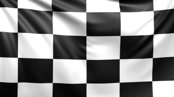 Zielflagge. nahtlos geloopter Videohintergrund, Filmmaterial