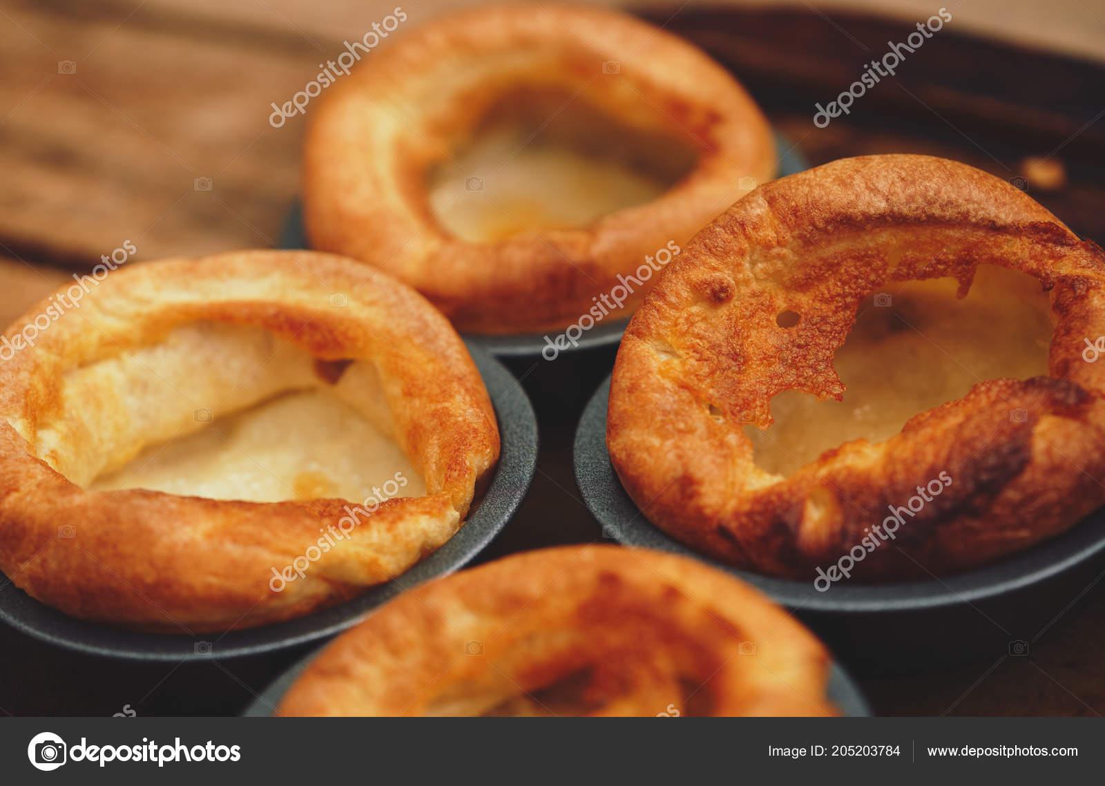 Pranzo Yorkshire Pudding Una Domenica Arrosto Cucinato Cucina ...