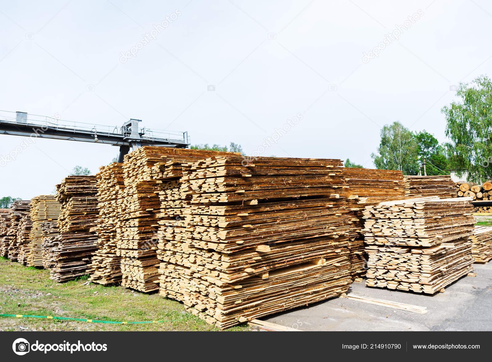 Sawmill Warehouse Sawing Boards Sawmill Outdoors Wood Timber