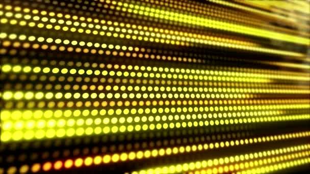 OVA epizódnak Led fény csíkok a sárga - arany felső sötét háttér - absztrakt háttér.