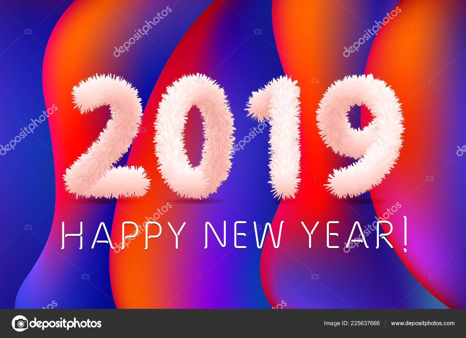 Carta Da Parati Pelosa Rosa : Lana shaggy pelosa rosa wooly felice anno nuovo sfondo