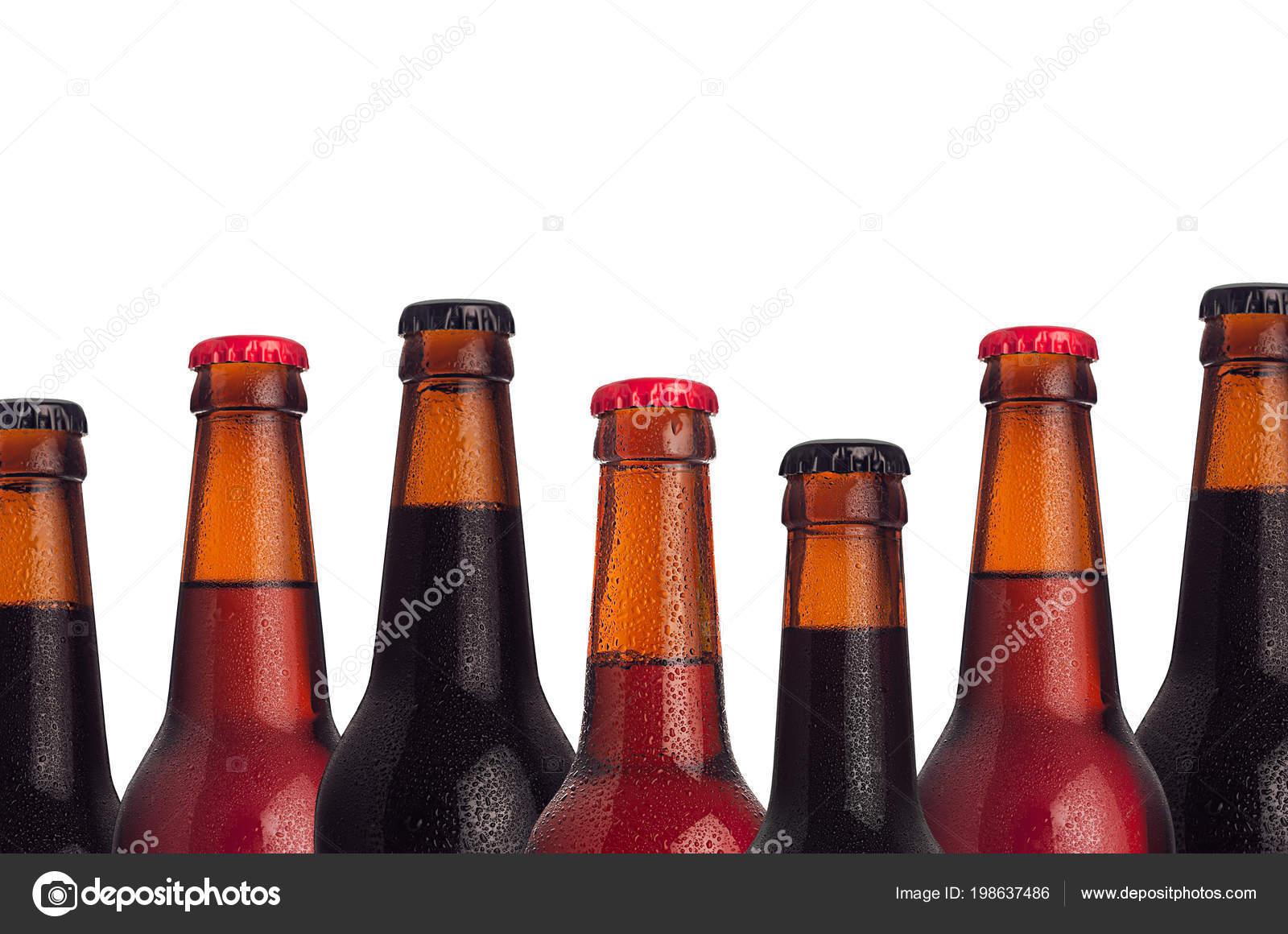 Decorative Frame Set Head Beers Bottles Porter Ale Lager Beer ...