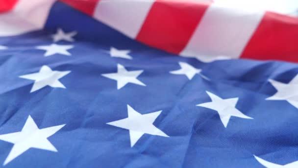 american flag on black background