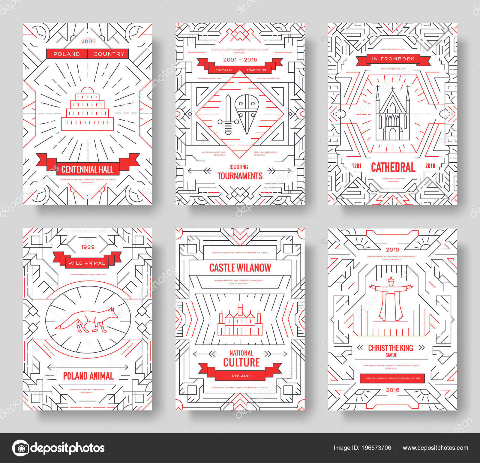 Architektur Plakat Layout