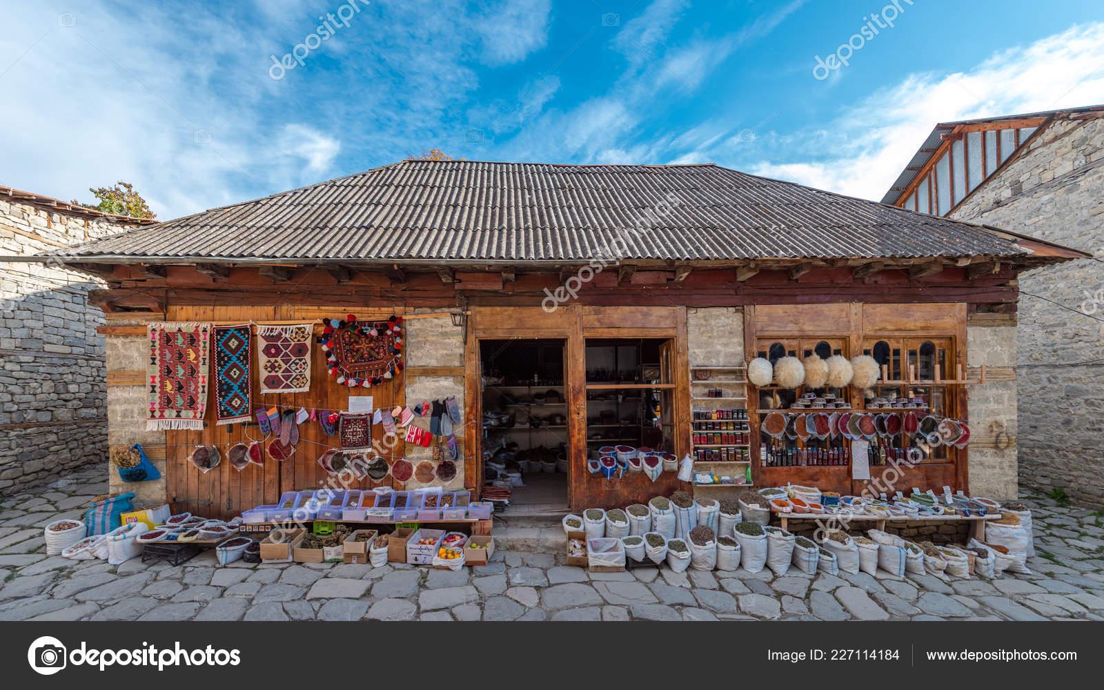 Lagich Azerbaijan October 2018 Oriental Shop Stock Editorial Photo