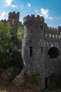 "Картина, постер, плакат, фотообои ""Стены и башни старой крепости в городе Шаки"", артикул 301008146"