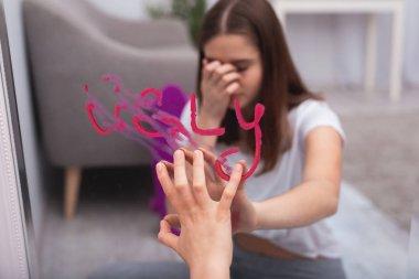 Depressed teen girl wanting changes