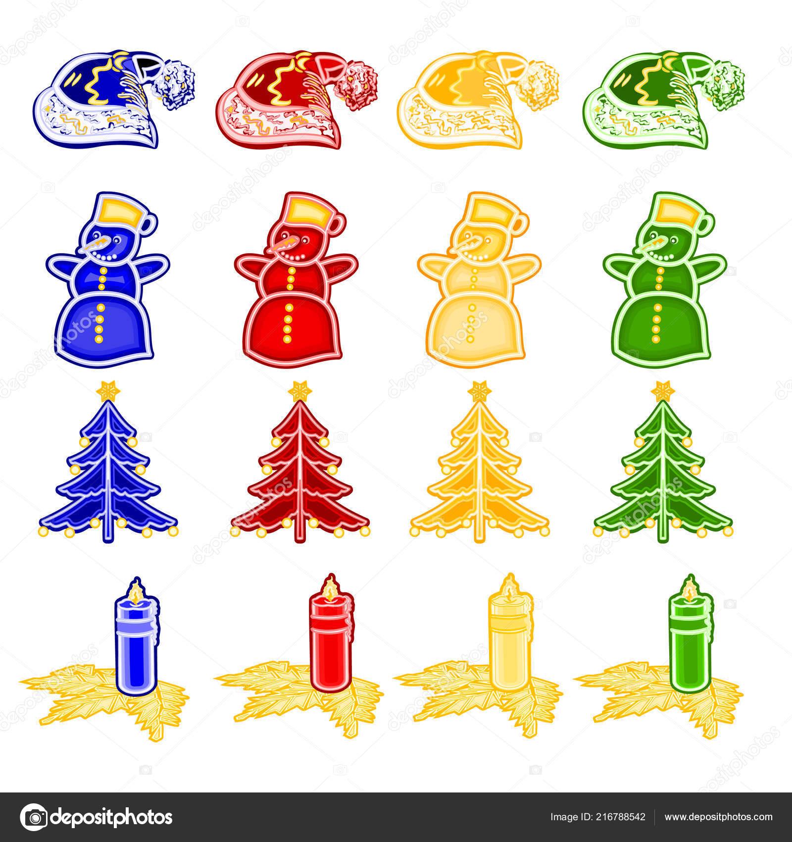 Weihnachtsbaum Kerzenhalter.Weihnachten Und Neujahr Dekoration Mit Christbaumschmuck Als Fayence