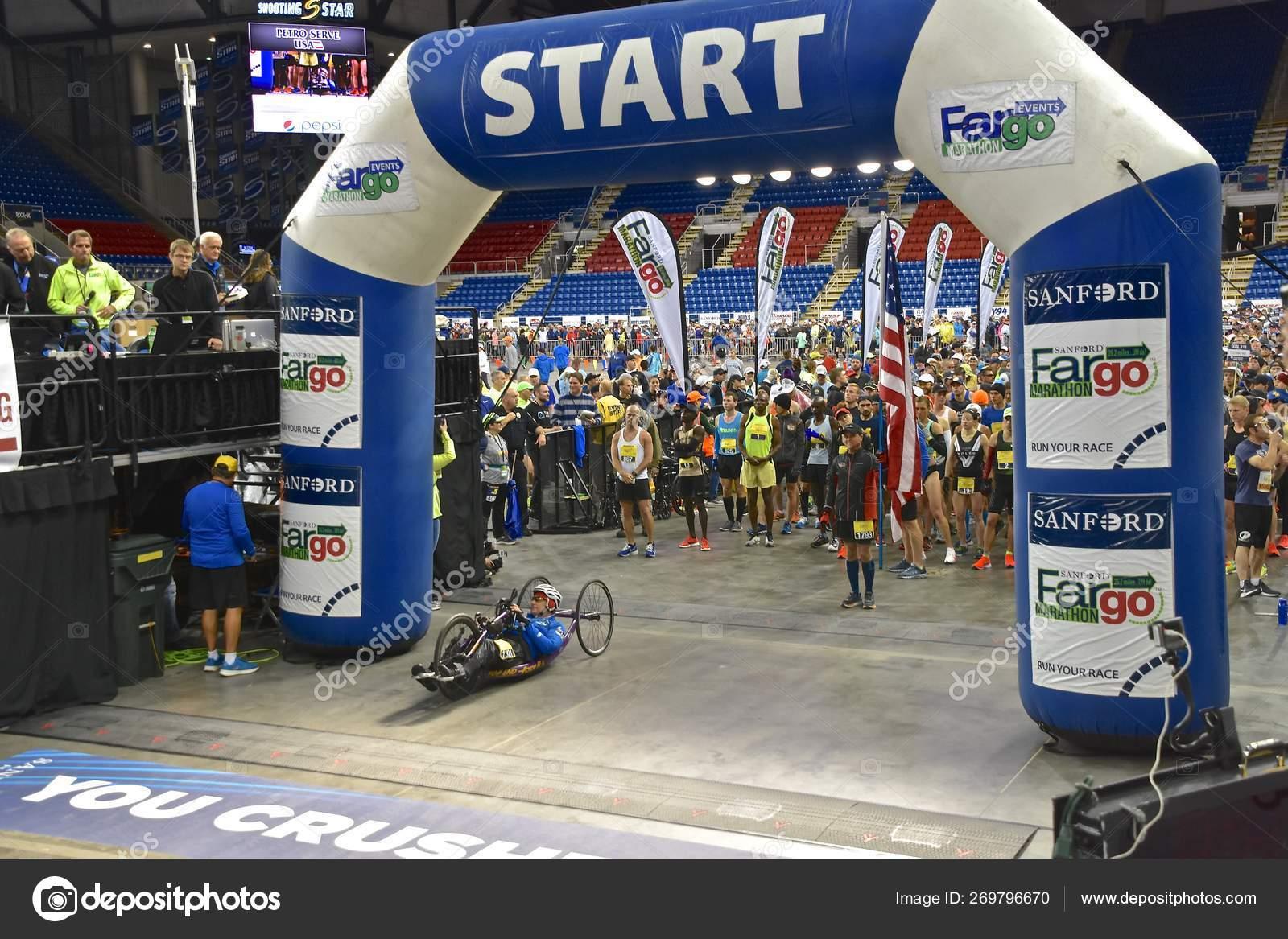 Fargo North Dakota May 2019 Marathoners Starting Line Annual
