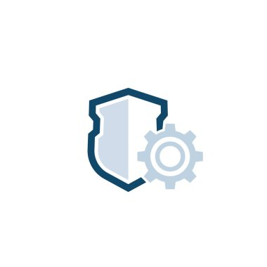 privacy protection settings icon with shield