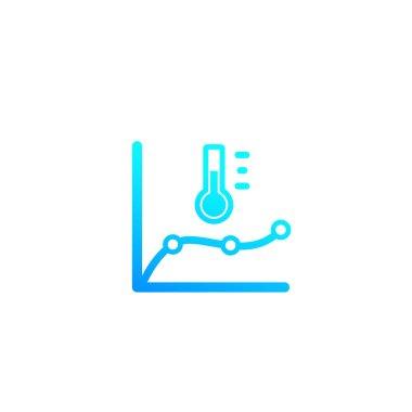 temperature monitoring vector icon