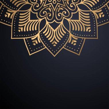 luxury ornamental mandala design background
