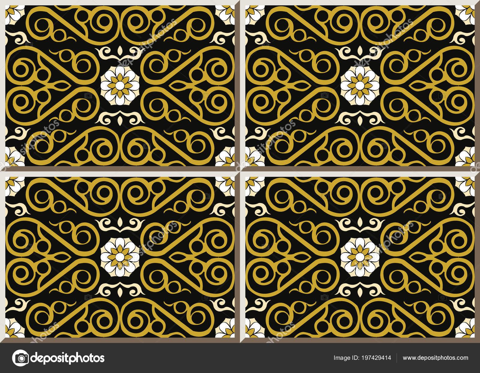 Curva spirale piastrelle ceramica modello controllo croce fiore