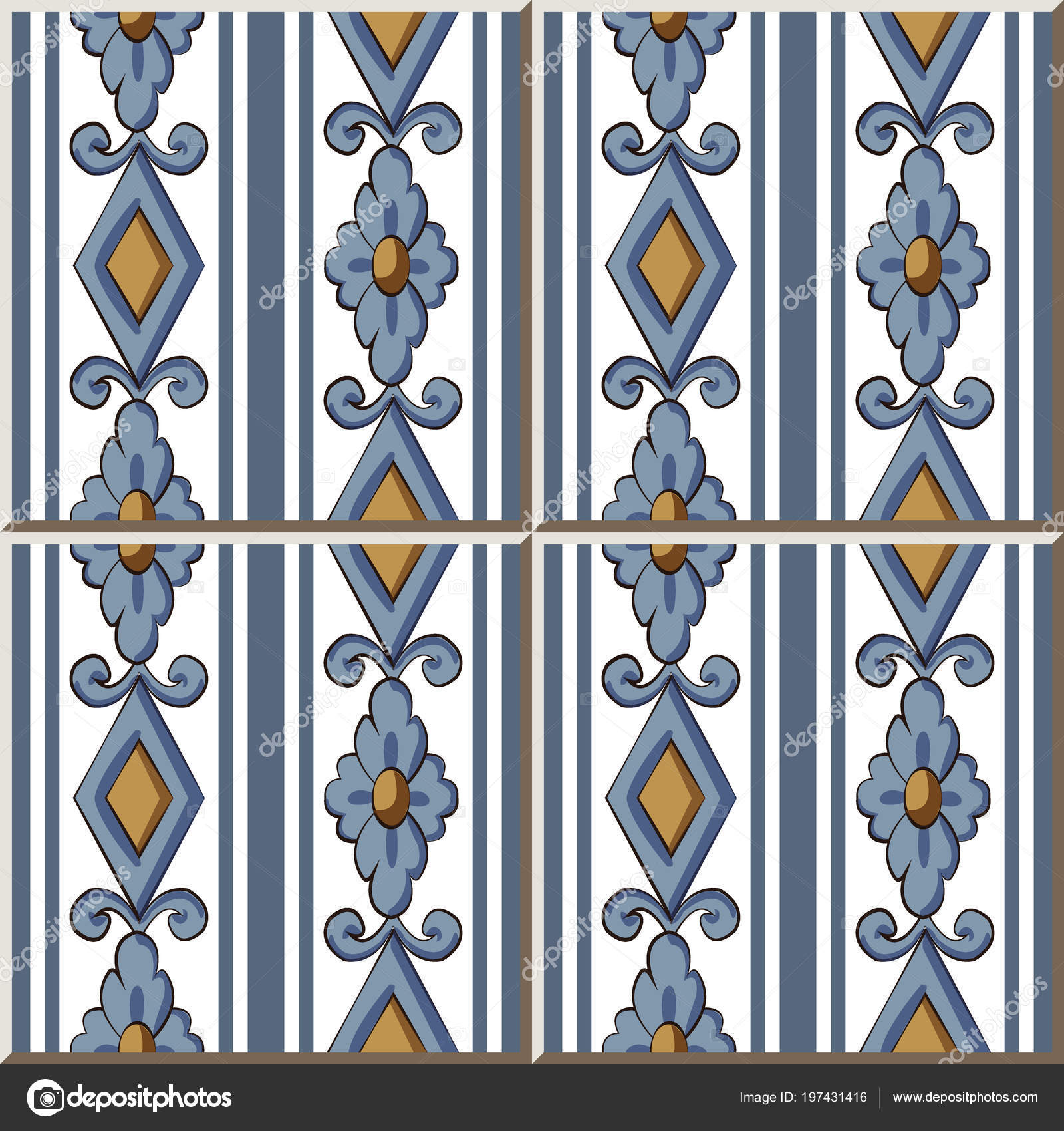 Ceramic Tile Pattern Check Square Curve Cross Flower Frame Line ...