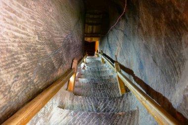 "Картина, постер, плакат, фотообои ""крутая каменная лестница в боковых гротах храма мати в чжане пейзажи"", артикул 313377424"
