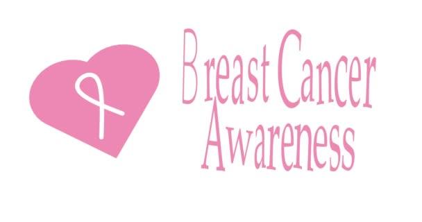 Brustkrebs-Bewusstsein Monat rosa Hintergrund, Band und Sprechblase mit Zitat für Gesundheitsversorgung Unterstützung. 2d-Konzeptschleifenanimation für Präsentationskampagnenmaterial.