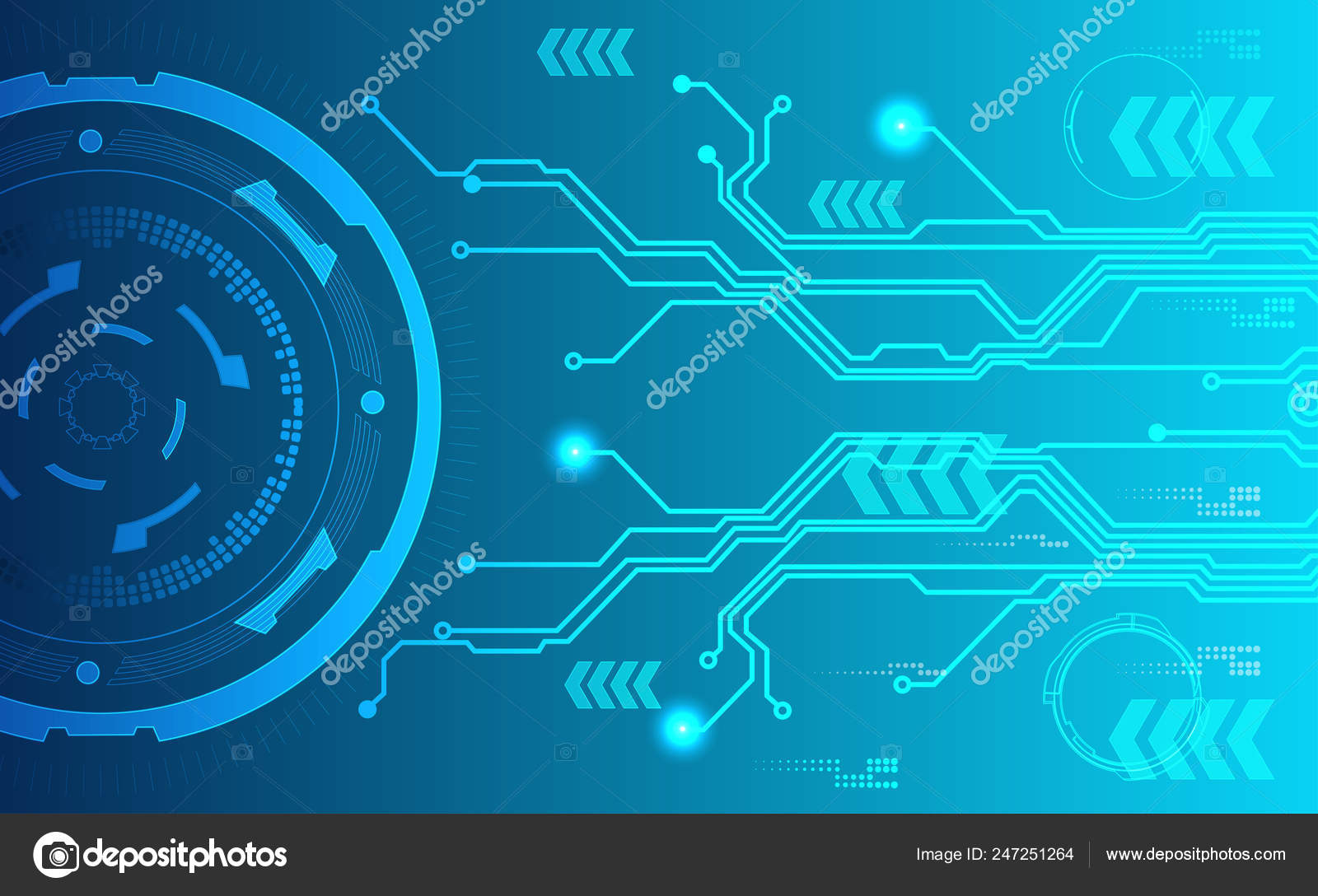 Abstract Background Technology Blue Tech Background Shining Abstract  Objects Vector ⬇ Vector Image By © Thailerderden10 | Vector Stock 247251264