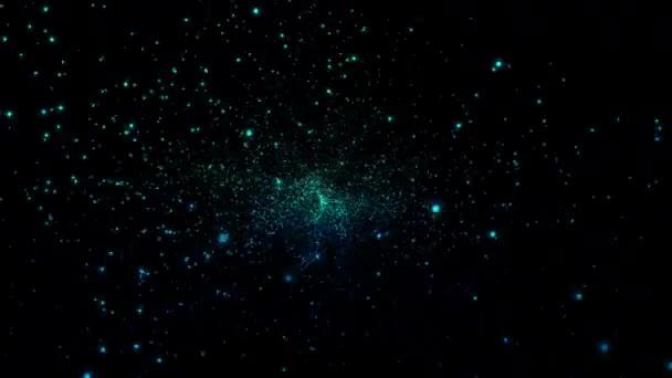 4k Abstractfly az Univerzum végtelen kis csillag mezőjének.