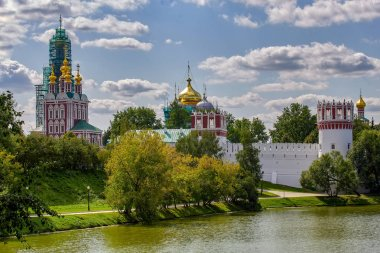 Moscow. Novodevichy mother of God-Smolensk monastery
