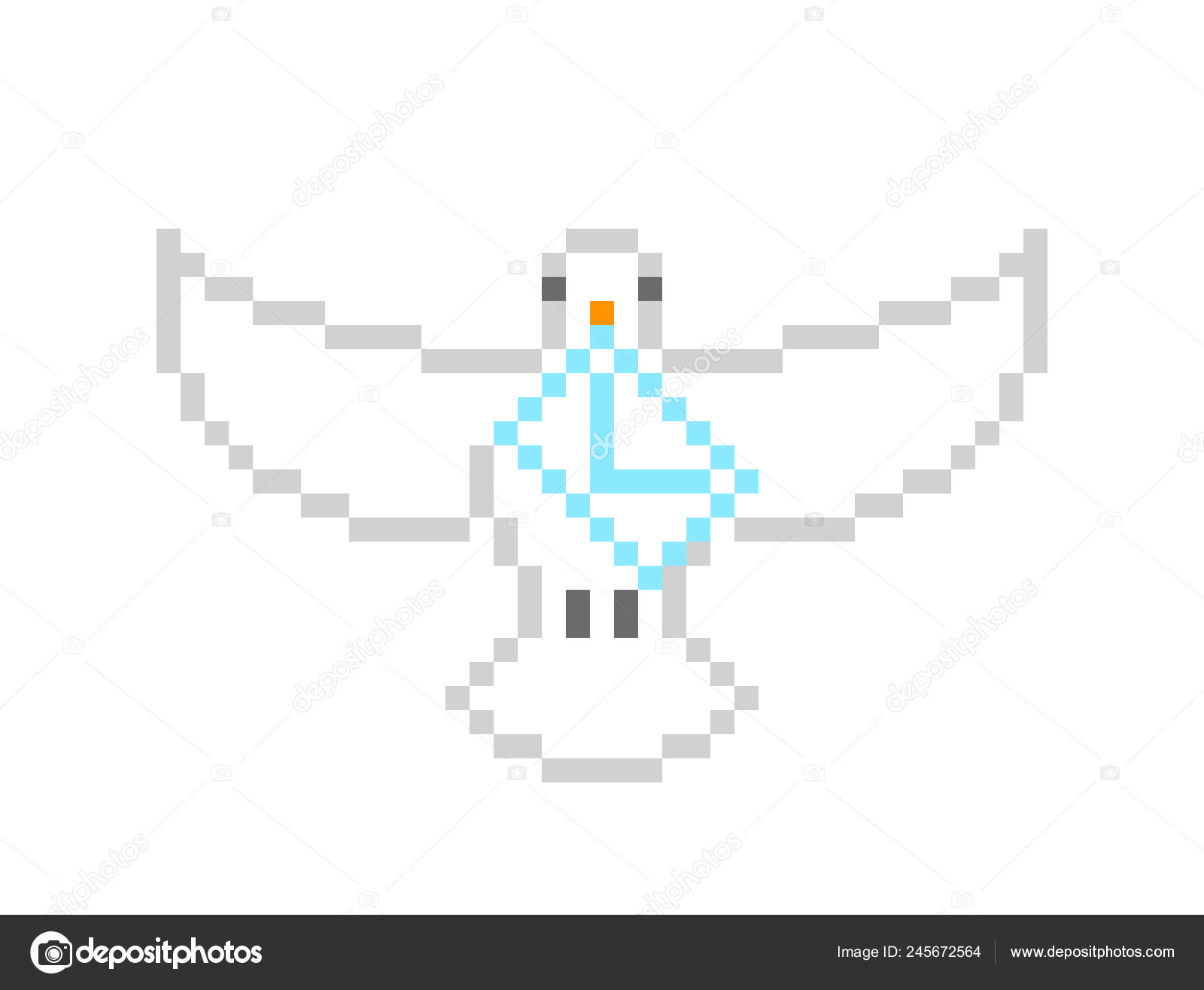 Homing Release Dove Flying Spread Wings Carrying Letter Its