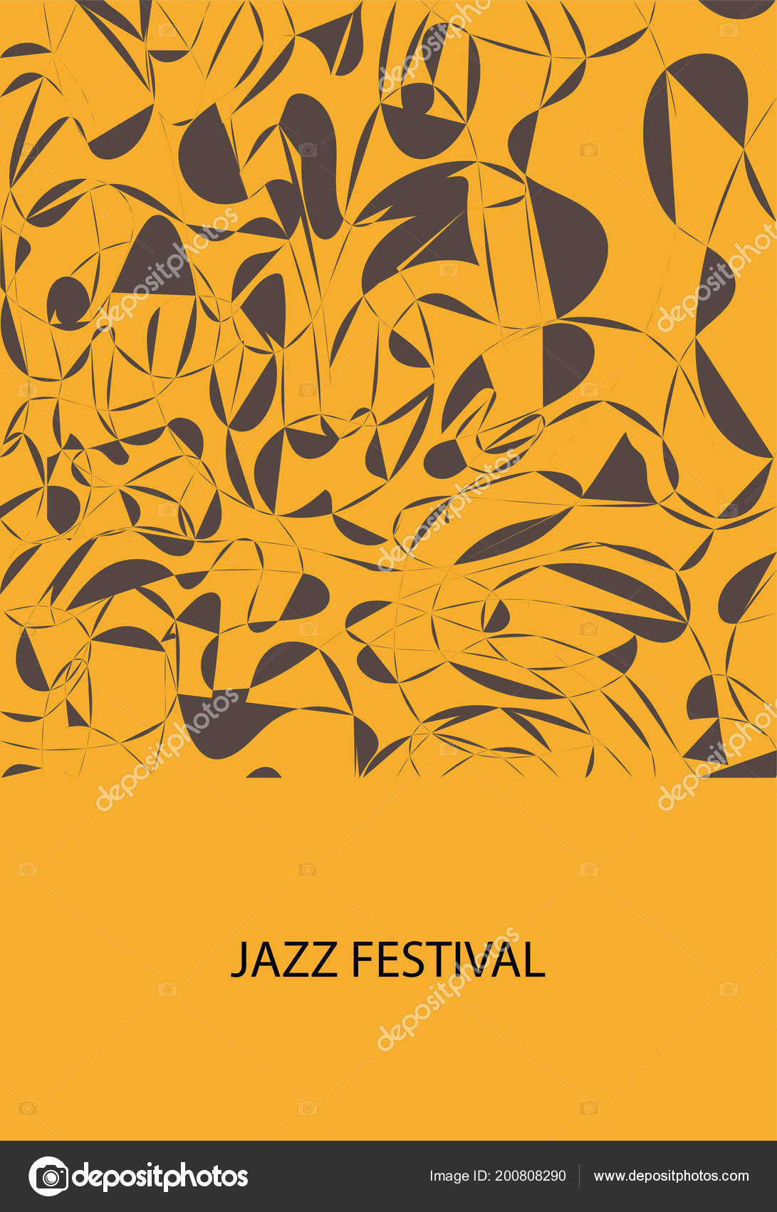 Invitation jazz festival design flayer ticket vetores de stock invitation jazz festival design flayer ticket vetores de stock stopboris Image collections