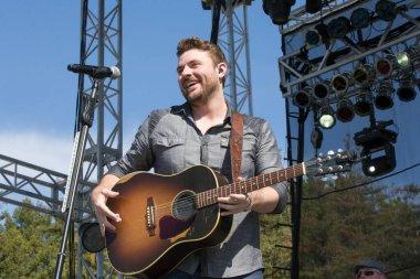 Santa Rosa, CA/USA: 6/5/2015: Chris Young performs at Country Summer Music Festival.