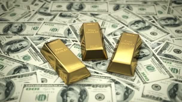 Finom aranyrudat USD számlák