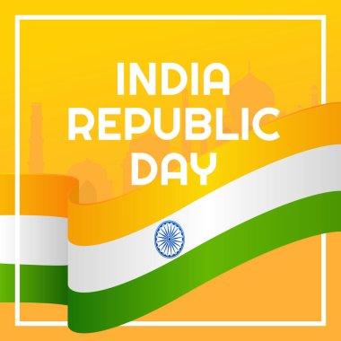 Happy Republic Day celebration Poster