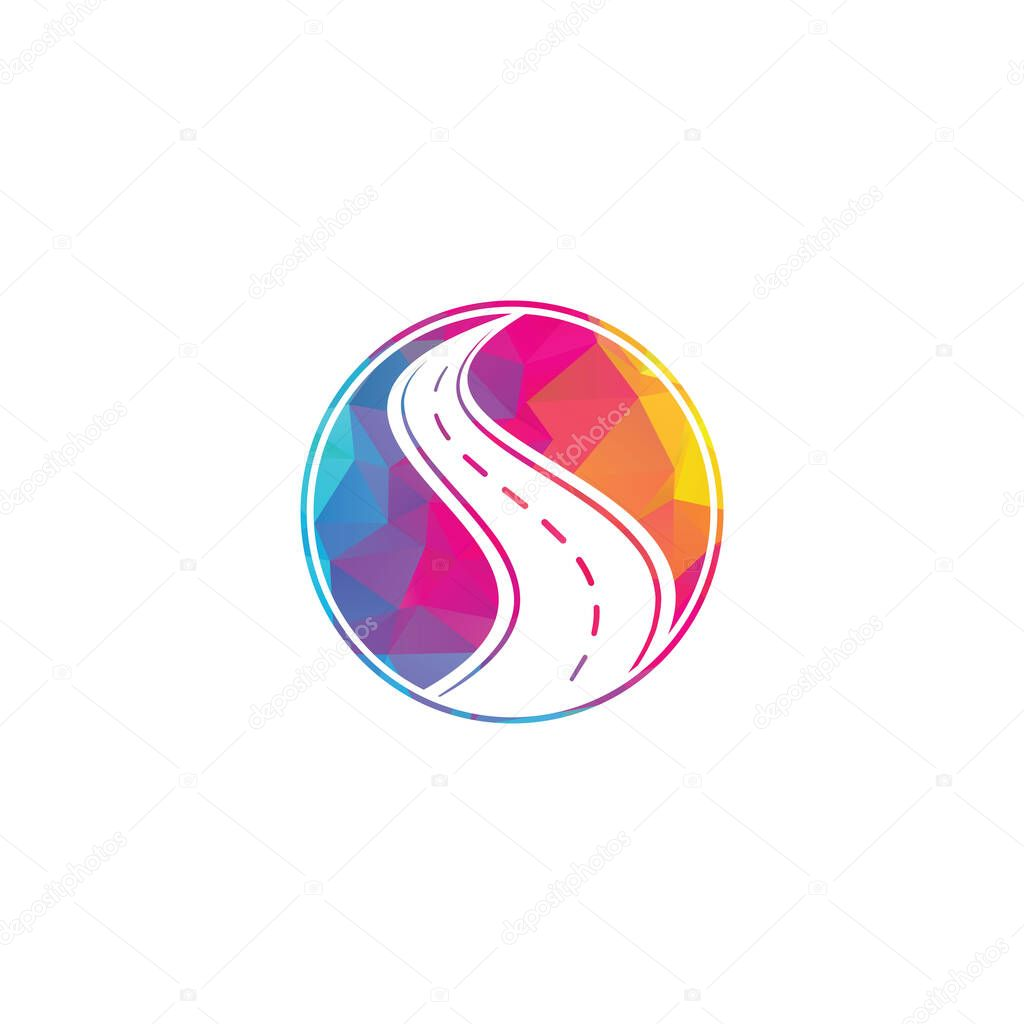 Creative Road Journey Logo Design Road Logo Vector Design Template Premium Vector In Adobe Illustrator Ai Ai Format Encapsulated Postscript Eps Eps Format