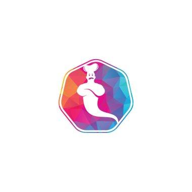 "Картина, постер, плакат, фотообои ""дизайн логотипа джина. дизайн доставки джина."", артикул 403805078"