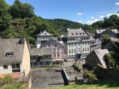 Fachwerkhäuser in Monschau Deutschland