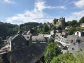 Die Stadt Monschau in Deutschland