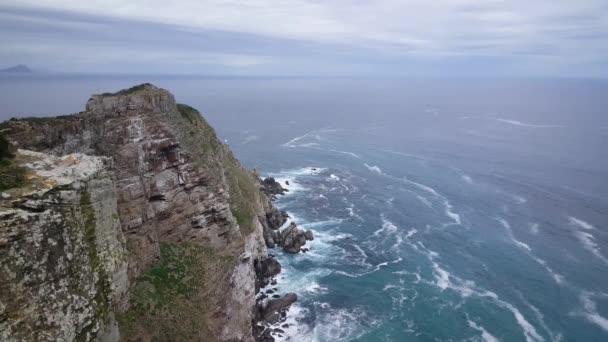 Útes na mysu Dobré naděje na atlantickém pobřeží Kapského poloostrova v Jižní Africe
