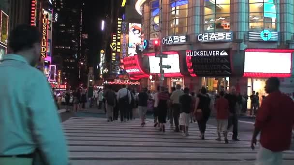 Times Square in the evening, New York City