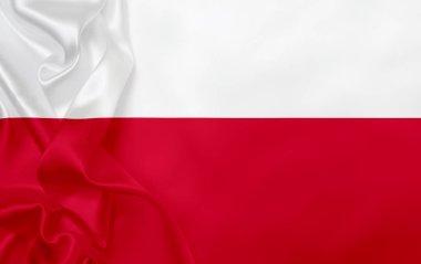 Flag of Poland, full frame