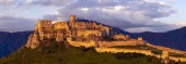 Zřícenina hradu Spissky (Spissky hrad) na Slovensku, jedna
