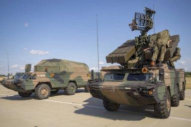 9K33 Osa, ZRK-SD Romb, NATO code: SA-8 Gecko) - self-propelled anti-aircraft missile system