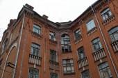 Régi kő ház, az utcán az orosz város Tver
