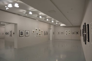 Inside the Multimedia Art Museum, Moscow, Russia