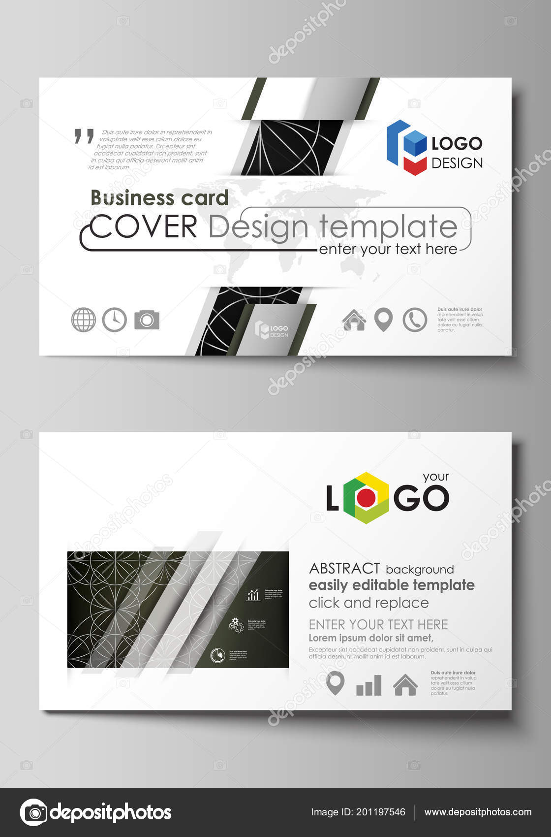 Business card templates easy editable layout vector design business card templates easy editable layout vector design template celtic pattern abstract ornament geometric vintage texture medieval classic ethnic wajeb Images