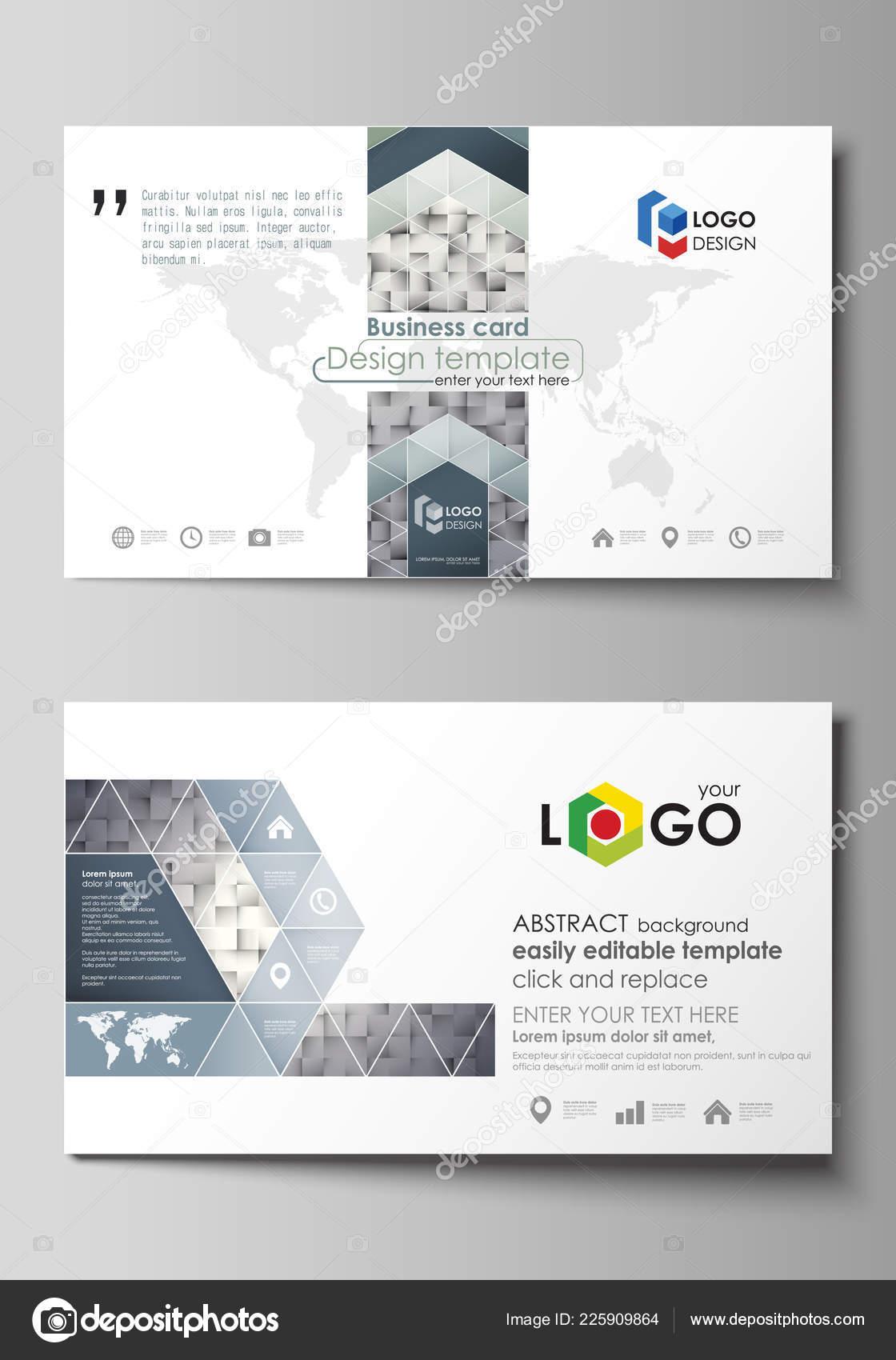 Visitenkarten Vorlagen Einfach Bearbeitbar Layout