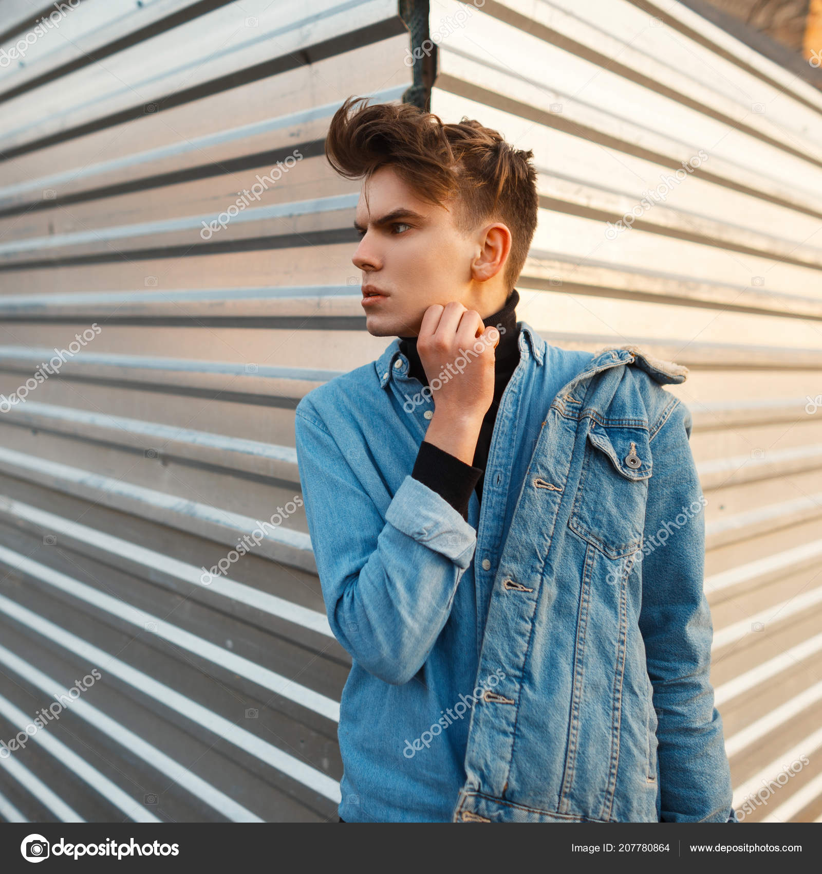 Photos hairstyle jeans image