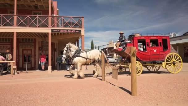 Jízda kočárem v Tombstone Arizona