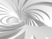 abstrakte moderne weiße Architektur Hintergrund