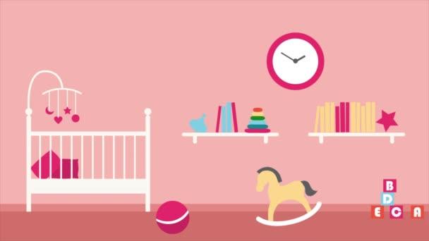 Hintergrunderklärer, Babyzimmer, hohe Qualität