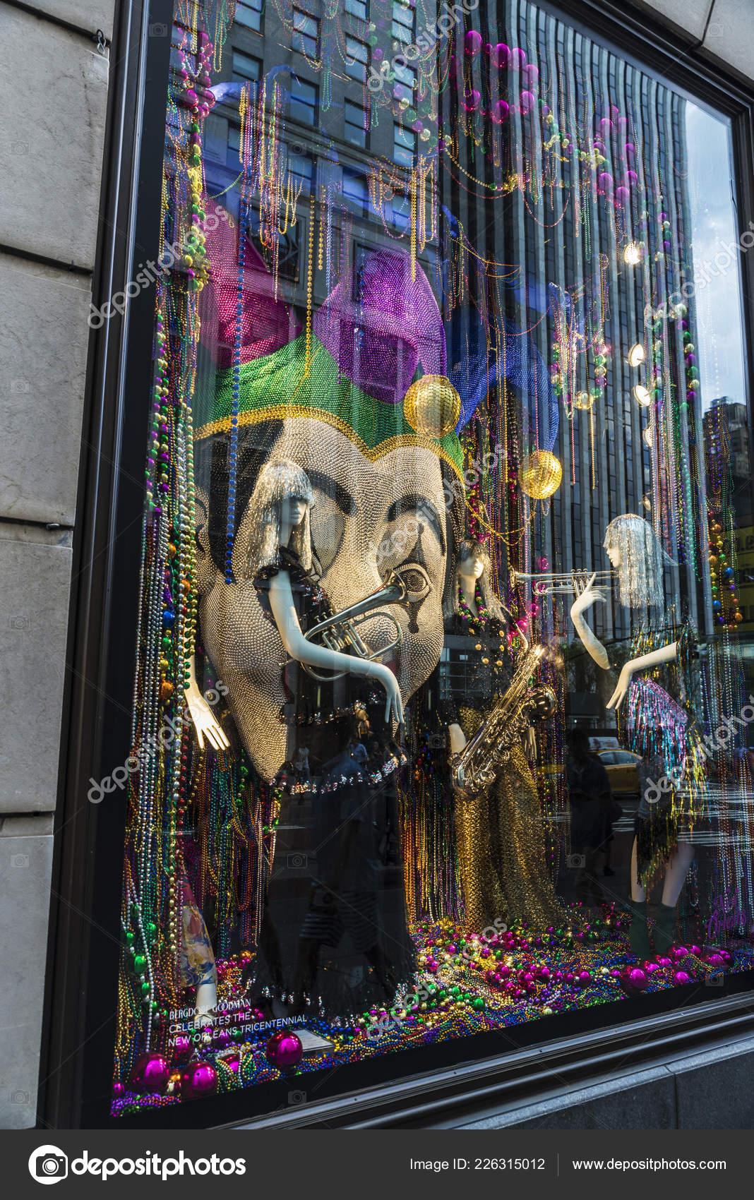 c44ee52a4b1 New York City Eua Julho 2018 Display Das Marcas Luxo — Fotografia de Stock