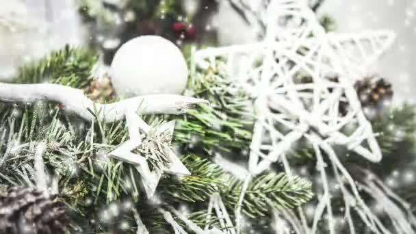 Dekorativní bílé vánoční stromeček hvězdy